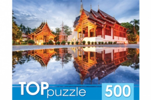 TOPpuzzle. ПАЗЛЫ 500 элементов. ГИТП500-4208 ПАГОДЫ НА ВОДЕ фото 45528